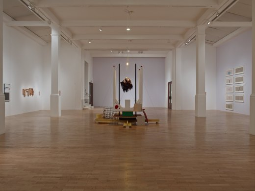 Richard Tuttle, I Dont Know . The Weave of Textile Language, installation view 2014. Photo credit Stephen White