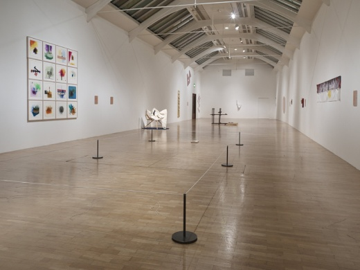 Richard Tuttle, I Don't Know. The Weave of Textile Language installation view 2014. Photo credit Stephen White