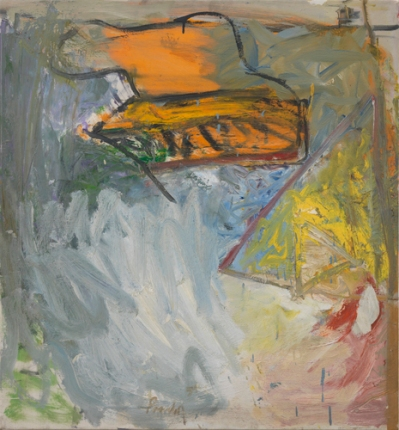 'Crown', 1959, oil on linen, 30 x 38 inches