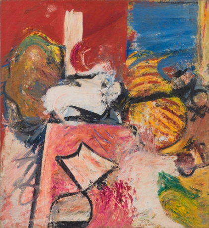 'Ionian', 1956, oil on linen, 35 x 32 inches