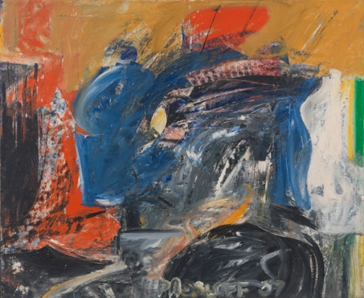 'Sutbury 2', 1957, oil on linen, 28 x 34 inches