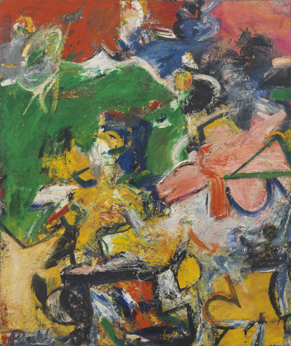 'Panoras', 1954, oil on linen, 44 x 37 inches