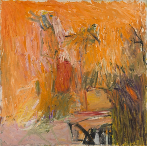 'Promenade for a Bachelor', 1958, oil on linen, 68 x 68 inches