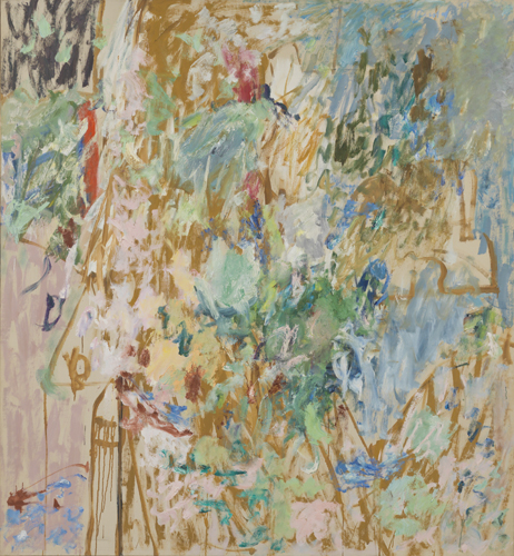 'Lookout', 1959, oil on linen, 69 x 69 inches
