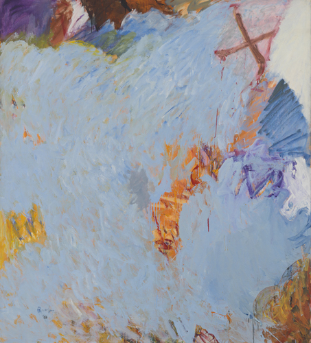 'Stove', 1959, oil on linen, 77 x 69 inches