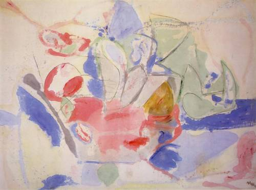 Helen Frankenthaler, 'Mountains and Sea', 1962