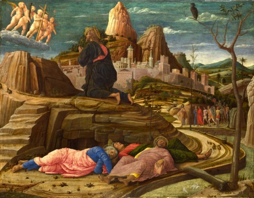 Andrea Mantegna, 'The Agony in the Garden', c. 1458