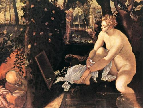 Tintoretto, 'Susanna and the Elders' 1555