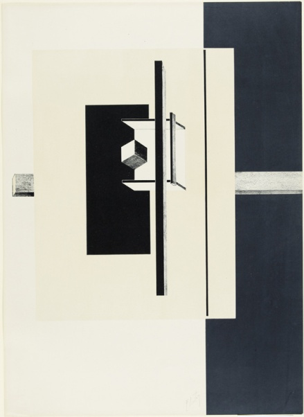 El Lissitzky, '1o Kestnermappe Proun [Proun. 1st Kestner Portfolio]', Published 1923