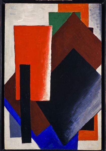 Lyubov Popova, 'Painterly Architectonic', 1916