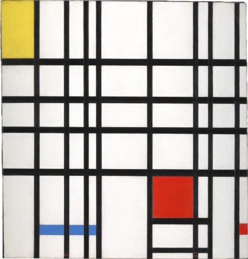 Piet Mondrian, 'Composition with Yellow, Blue and Red', 1937-42