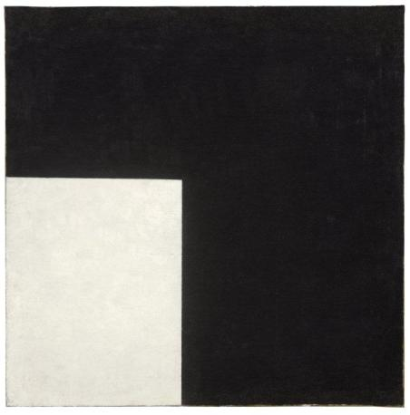 Kazimir Malevich, Black and White, Suprematist Composition, 1915, oil on canvas