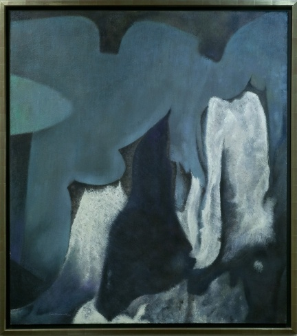 "Jock Macdonald, ""Lament"", 1958, oil and Lucite 44 on canvas, 137.2 x 129 cm, Royal Bank of Canada, photo Cheryl O'Brien"