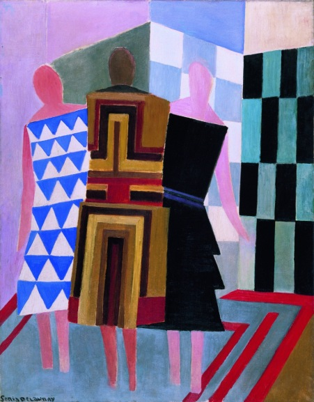 "Sonia Delaunay, ""Simultaneous Dresses (The three women)"", 1925, Museo Thyssen-Bornemisza, Madrid © Pracusa 2014083"