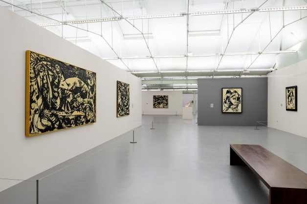 'Jackson Pollock: Blind Spots', on display at Tate Liverpool, © Tate Liverpool, Roger Sinek