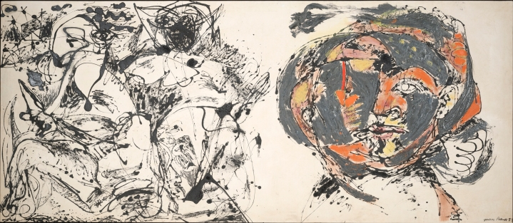 Jackson Pollock, 1912-1956 Portrait and a Dream 1953 Oil and enamel on canvas Overall: 58 1/2 x 134 3/4 in. Dallas Museum of Art, gift of Mr. and Mrs. Algur H. Meadows and the Meadows Foundation, Incorporated © Pollock-Krasner Foundation/Artists Rights Society (ARS), New York