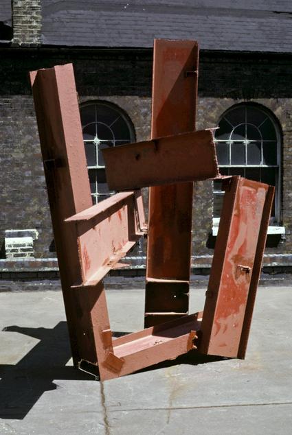John Foster, 'Three Cornered', 1975, steel, painted