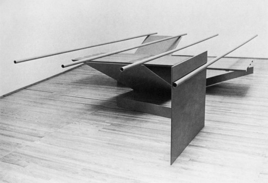 "Anthony Caro, ""Prairie"", painted steel, 1967, Copyright Barford Sculptures"