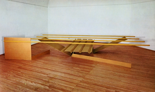 "Anthony Caro, ""Prairie"", painted steel, 1967"