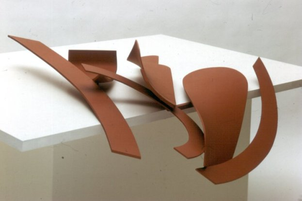 "Anthony Caro, ""Table Piece LXXXII"", painted steel, 1969"