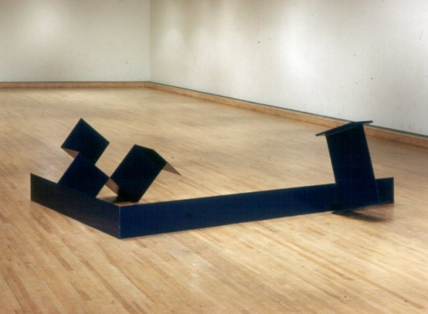 "Anthony Caro, ""Titan"", painted steel, 1964"