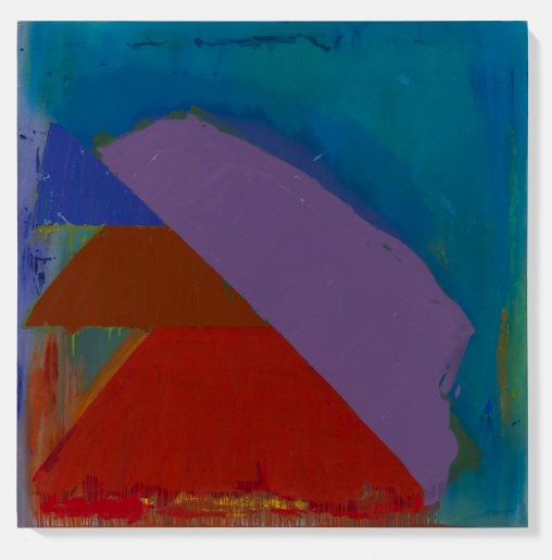 John Hoyland, 'Scando 2.10.80', © The John Hoyland Estate, Courtesy Murderme Collection.