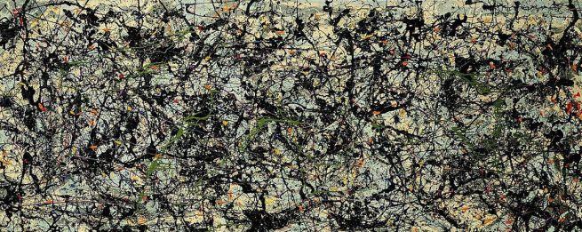 "Jackson Pollock, ""Lucifer"", 1947."