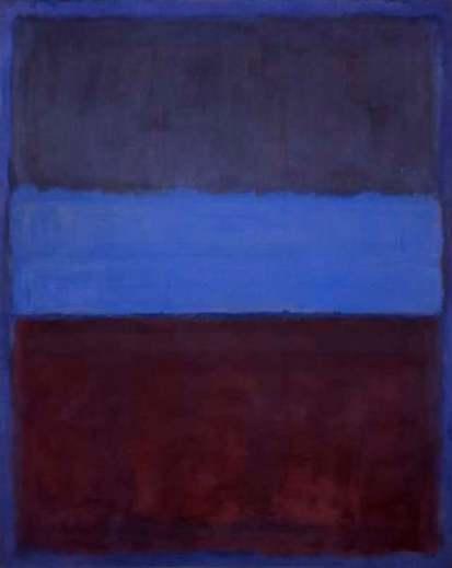 """Mark Rothko, """"No.61, Rust and Blue"""", 1953"""