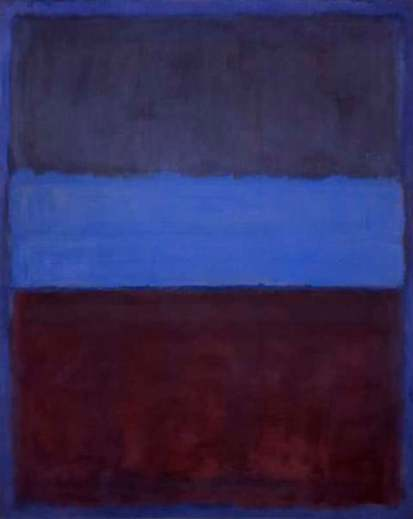 "Mark Rothko, ""No.61, Rust and Blue"", 1953"