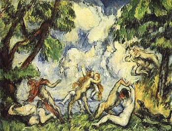 """Paul Cézanne, """"La lutte d'Amour"""", 1875-76"""