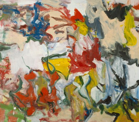 Willem de Kooning, untitled XI, 1975