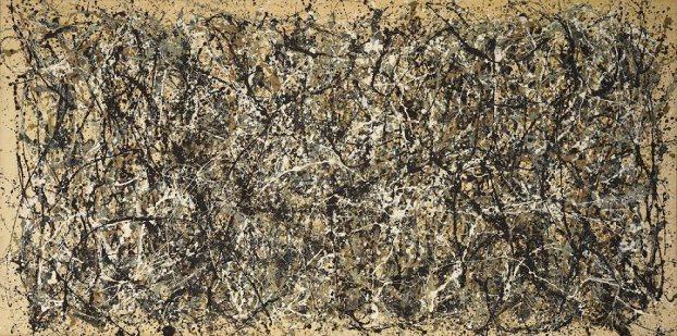 "Jackson Pollock. ""One"", Number 31, 1950"