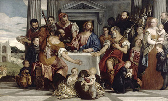 Veronese, Supper at Emmaus
