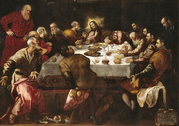 Tintoretto, Last Supper.