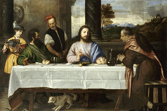 Titian, Supper at Emmaus