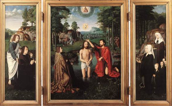 Gerard David, Triptych of Jan des Trompes