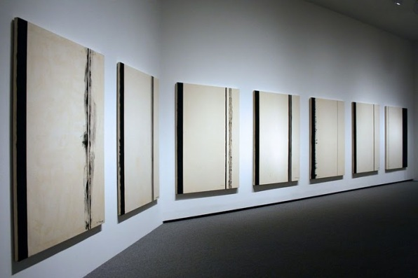 "Barnett Newman, ""Stations of the Cross""."