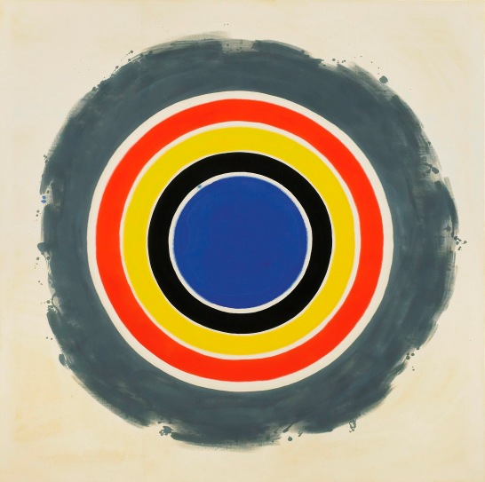 "Kenneth Noland, ""That"", 1958-59, acrylic resin on canvas, 81.75 x 81.75 inches. © 1997 Kenneth Noland, licensed by VAGA, New York, N.Y."