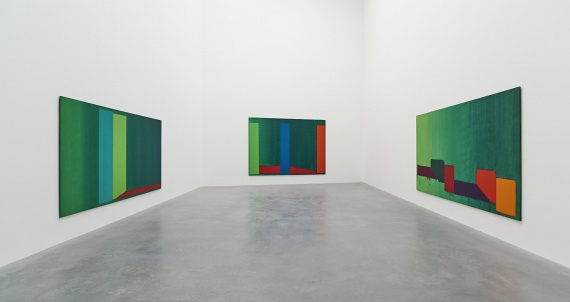 Installation, John Hoyland at Newport Street