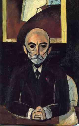 """Henri Matisse, """"Auguste Pellerin"""", 1916, Musée National d'Art Moderne, Paris."""