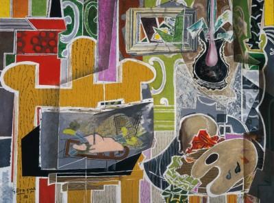 "George Braque, ""Studio with Black Vase"", 1938, The Kreeger Museum, Washington"