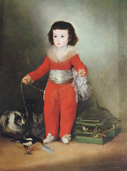 Goya, Manuel Osorio Manrique de Zuniga, 1788.