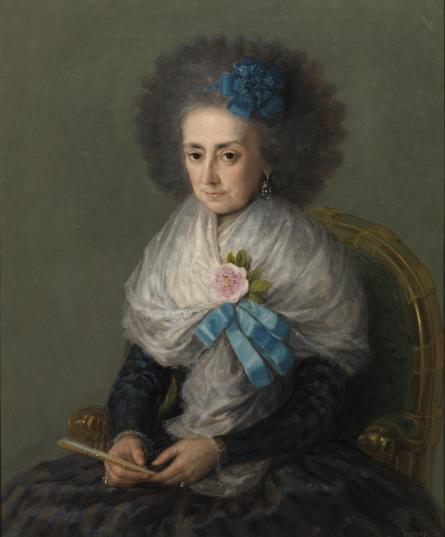 """María Antonia """"Gonzaga, Marquesa Viuda de Villafranca"""", 1795"""