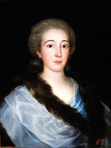 """""""Maria Teresa de Vallabriga y Rozas"""", 1783"""
