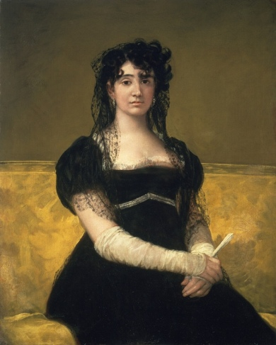 """Portrait of Doña Antonia Zárate"", c.1805"