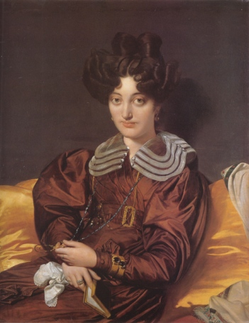 "Ingres, ""Portrait of Madame Marcotte de Sainte-Marie"", 1826"