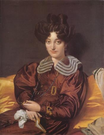 """Ingres, """"Portrait of Madame Marcotte de Sainte-Marie"""", 1826"""