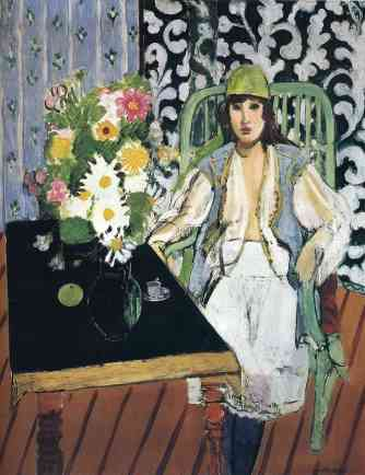 "Henri Matisse, ""The Black Table"", 1919, private collection."