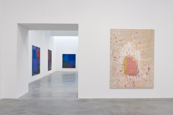 John Hoyland installation, Gallery 5 into 6 -® Victor Mara Ltd, Photo by Prudence Cuming Associates