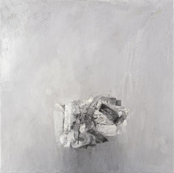 """""""Clump"""", 1997, oil on canvas, 127x127cm"""
